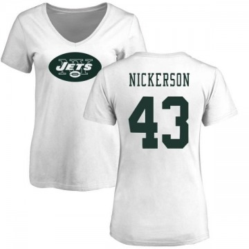 low priced f39da e3a4f Youth Parry Nickerson New York Jets Name & Number Logo T ...