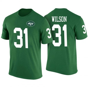 Youth Quincy Wilson New York Jets Green Color Rush Legend T-Shirt